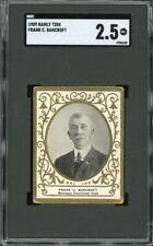 1909 T204 Frank Bancroft - Cincinnati Reds - SGC 2.5