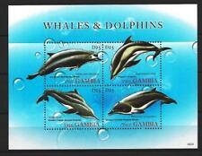 Gambie 2010 baleines feuillet n° 4977 à 4980 neuf ** 1er choix