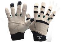 Bionic Mens Relief Grip Garden Gloves. Arthritis protection. Premium Leather