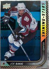 Joe Sakic 2015-16 Upper Deck Hockey Shining Stars Royal Blue