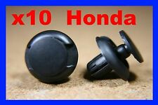 10 Honda  Civic front  bumper fender push fastener clips