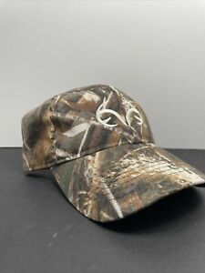 Men's Realtree Adapt Camouflage Adjustable Ball Cap with Logo on Front Max-5