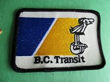 BC Transit Mascot Thor (Comic Strip B.C by Johnny Hart) New Canada Bus Patch
