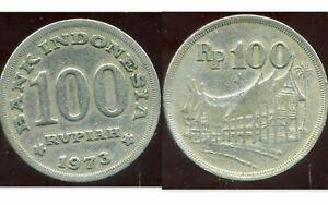 INDONESIA  INDONESIE  100  rupiah  1973  ( etat )
