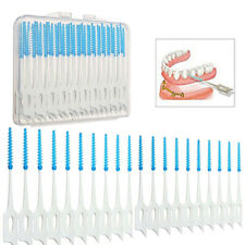 40pcs Interdental Gum Brush Floss Dental Toothpick Teeth Cleaning Oral Care Kit