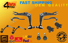 KIT SET FRONT SUSPENSION WISHBONE ARMS BALL JOINT LINKS PEUGEOT 407 CITROEN C6