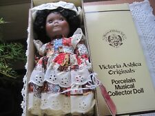 Victoria Ashlea African American AA  or.... porcelain musical numbered doll