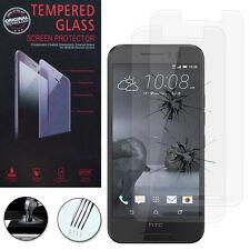 2x Cristal protector para HTC ONE S9 real de pantalla película ENTRELAZADO