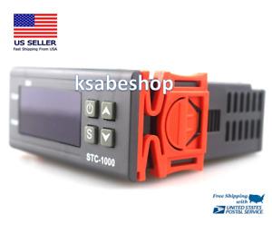 STC-1000 Digital Temperature Controller AC 110-220V Thermostat Aquarium Sensor