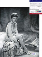 Angela Lansbury Legendary Actress Signed Autograph 8x10 Photo PSA/DNA COA #2