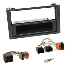 1-DIN auto-radio einbau-komplettset+COUVERTURE+Adaptateur pour SAAB 9-3