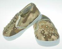 Stuart Weitzman Baby Soft Sole Sneaker/Shoe Tan US Size 1 (6wks-3mths) NEW