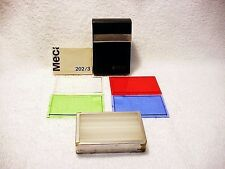 Mecablitz 202 wide angle adapter/colored filter set