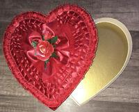 Vintage Valentine Heart ❤️ Candy Box 📦