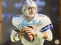 Troy Aikman Dallas Cowboys Autographed Signed 8x10 Photo COA