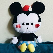 "NEW 24"" BIG Disney Japan Minnie Mouse Kanahei Plush Stuffed Doll SEGA Mickey Toy"