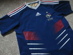 Shorts Set Kit for Youth Size Large GENE France Mbappe Home Blue Soccer Kids Jersey 10-11 Years Old
