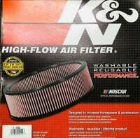 "SALE-  K&N AIR CLEANER ELEMENT 14"" X 4"" - KNE-3750  HIGH FLOW AIR FILTER E-3750"