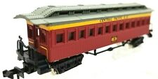 N Bachmann 75674 Central Pacific 1860 Old Time Coach #3 NIB