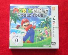 Mario Golf World Tour, 3D Nintendo 3DS Spiel, Neu, deutsche Version