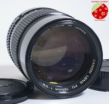●●Exc5+ CANON NEW FD 135mm F2.8 MF Manual Focus Telephoto Lens NFD from Japan●●