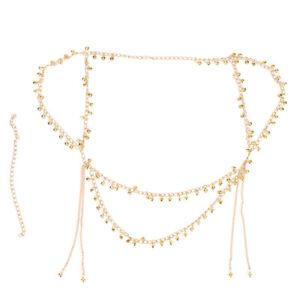 Fashionable Belly Dancing Waist Belt Sexy Bohemian Tassel Body Chain Jewelry