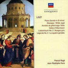 Pascal Rog - Liszt: Piano Works [New CD]