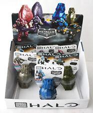 7X MEGA BLOKS HALO METALLIC SERIES II + DISPLAY BOX NEW SEALED !