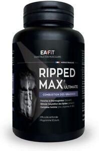 EAFIT Ripped Max Ultimate Brûleurs de Graisse 120 Comprimés