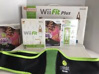 Nintendo Wii Fit Plus, Wii Fit, Zumba, Balance Board. GREAT CONDITION TESTED
