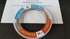 1 Spool Trik Fish Saltwater CAMO Leader Material 40 lbs. Test 50 Yards