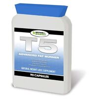 T5 ADVANCED STRONG LEGAL FAT BURNERS DIET WEIGHT LOSS PILLS 60 CAPSULES BOTTLE