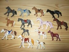 PLAYMOBIL ANIMAUX EQUITATION 14 CHEVAUX RECENT COULEURS VARIES