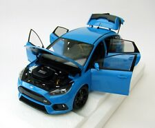 AUTOart 72953 Ford Focus RS 2016 (nitrous Blue) 1 18th Scale