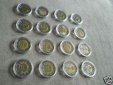manueduc  Las 16 monedas  2 EUROS 2009 Conmemorativas  UEM NUEVOS