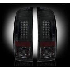 Recon 264176BK Smoked LED Tail Lights For 2008-2016 Ford Superduty