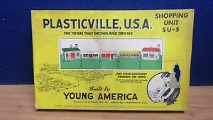 PLASTICVILLE SHOPPING KIT PARTS IN VINTAGE BOX 600344