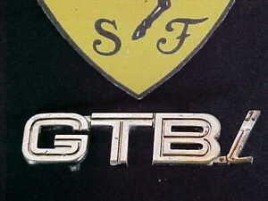 Ferrari 308 Emblem Trunk_GTBi_60715000_GENUINE