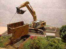 Kanalverbau für Baggermodelle und Dioramen 1:50