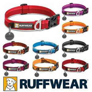 Ruffwear Hoopie Dog Collar, TOUGH AND TESTED Various Colours and NEW Designs