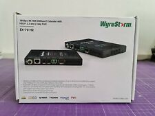 Wyrestorm EX-70-H2 4K HDR HDBaseT Extender Set with 2-Way PoH