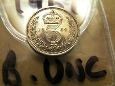 More details for maundy coins   3d                 1969