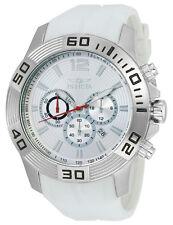 Invicta Pro Diver 20295 Men's Round Analog Silver Tone Chronograph Date Watch
