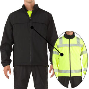 5.11 Tactical Mens High Visibility Reversible Jacket for All Weather Protection