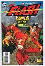 Flash #242 NM Signed w/COA Freddie E. Williams II 2008 DC Comics