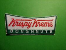 "New Krispy Kreme Donut Embroidered Patch 1.5"" x 4"" Long"