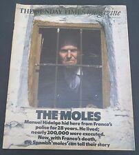 Vtg London Sunday Times newspaper magazine 1978 Paul Bocuse L'ermitage L.A.