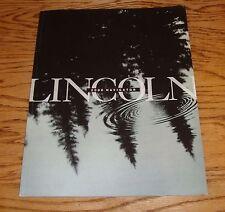 Original 2000 Lincoln Navigator Deluxe Sales Brochure 00
