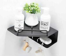 Hot Bathroom Shelf Aluminum Storage Rack Corner Holder Shower Shampoo Basket NEW