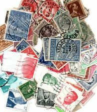 100 x Stamps of Belguim as Scanned image